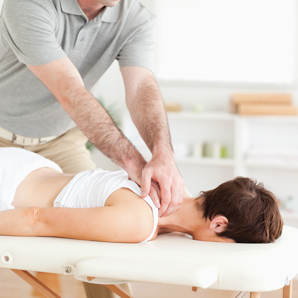 Deep tissue physical therapy
